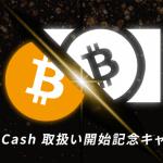 各取引所のビットコインキャッシュ(BCH)対応状況は? 売買、送付・送金、預入の対応を紹介