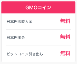 GMOコインの入出金