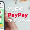 YJFX!のPayPayキャンペーン徹底解説!参加条件やプレゼント特典など気になるポイントを紹介